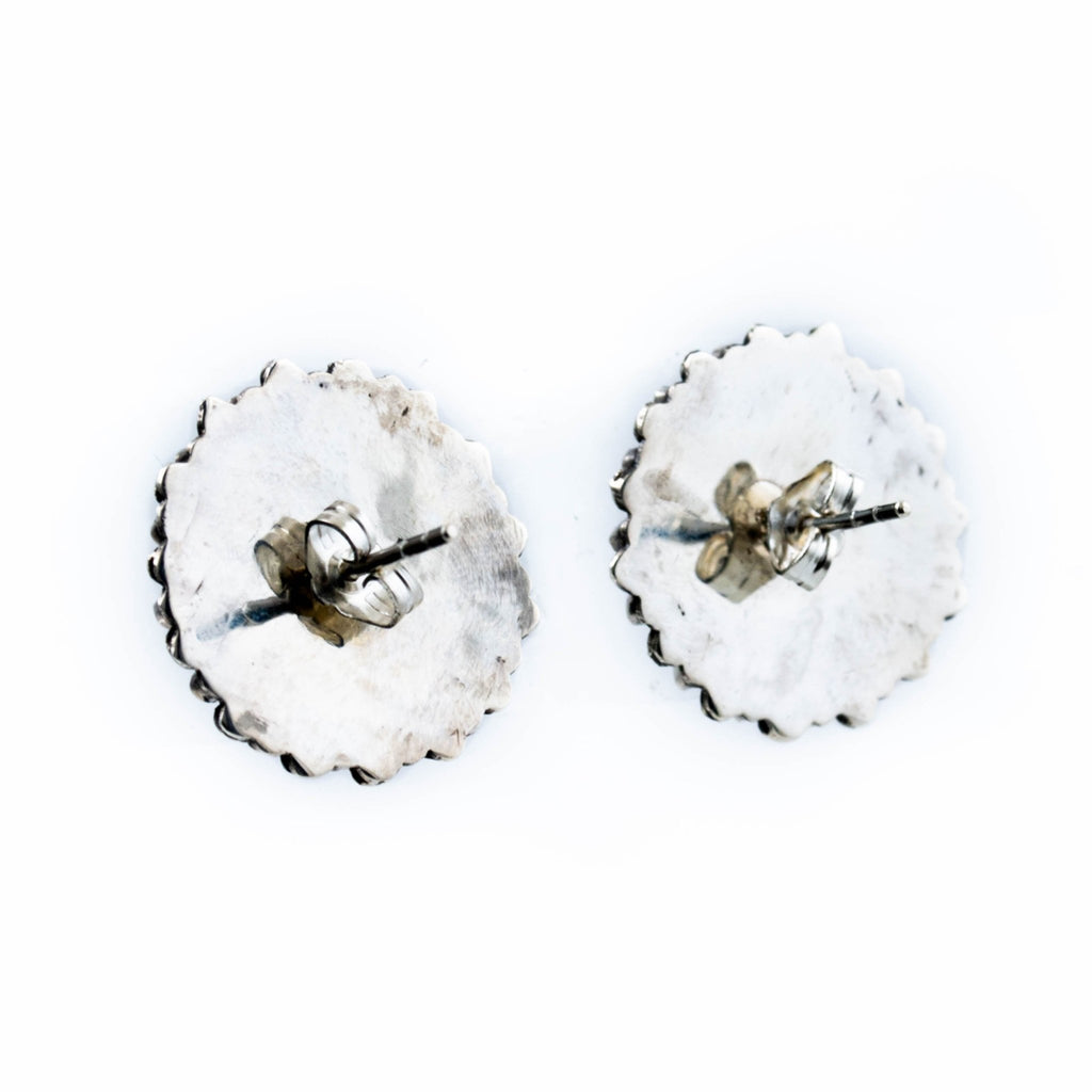 "Zuni ""Zia"" Wheel Earrings - Kingdom Jewelry"