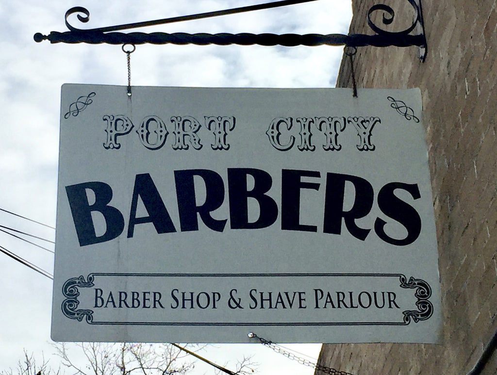 May 5, 2017 Shave Sales Event at Port City Barbers in Stockton, CA!