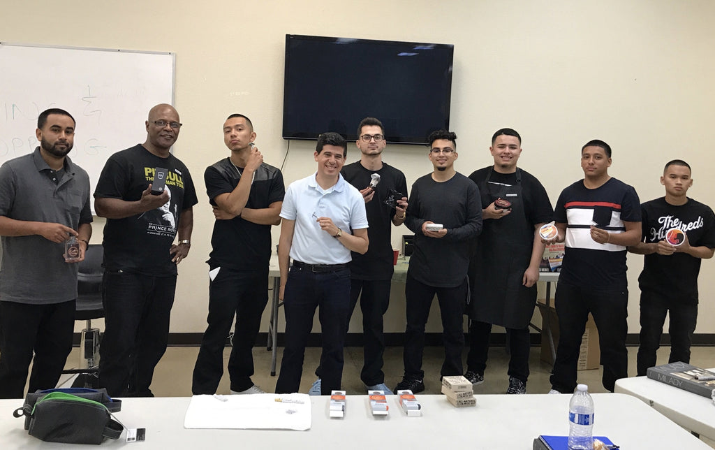 Meeting the Future of Barbering at the California College of Barbering and Cosmetology