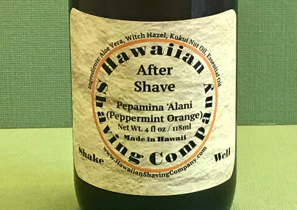 Hawaiian Shaving Co. Peppermint Orange Aftershave Balm 4.0 oz.