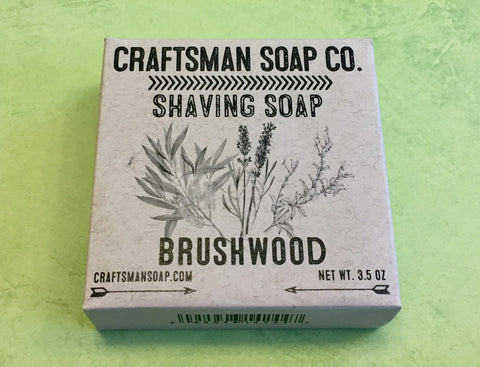 Craftsman Soap Co. Brushwood Shaving Soap