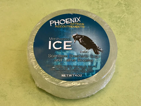 PAA ICE Mentholated Pre-Shave Soap