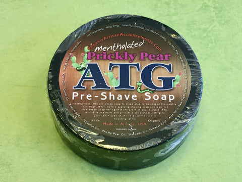 PAA Prickly Pear ATG Pre-Shave Soap