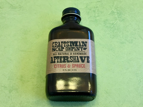 Craftsman Soap Co. Citrus & Spruce Aftershave