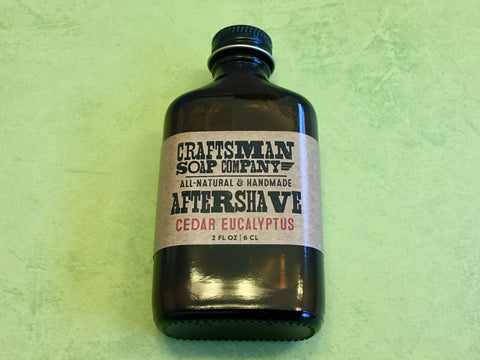 Craftsman Soap Co. Cedar Eucalyptus Aftershave