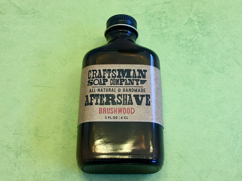 Craftsman Soap Co. Brushwood Aftershave