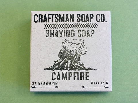 Craftsman Soap Co. Campfire Shaving Soap