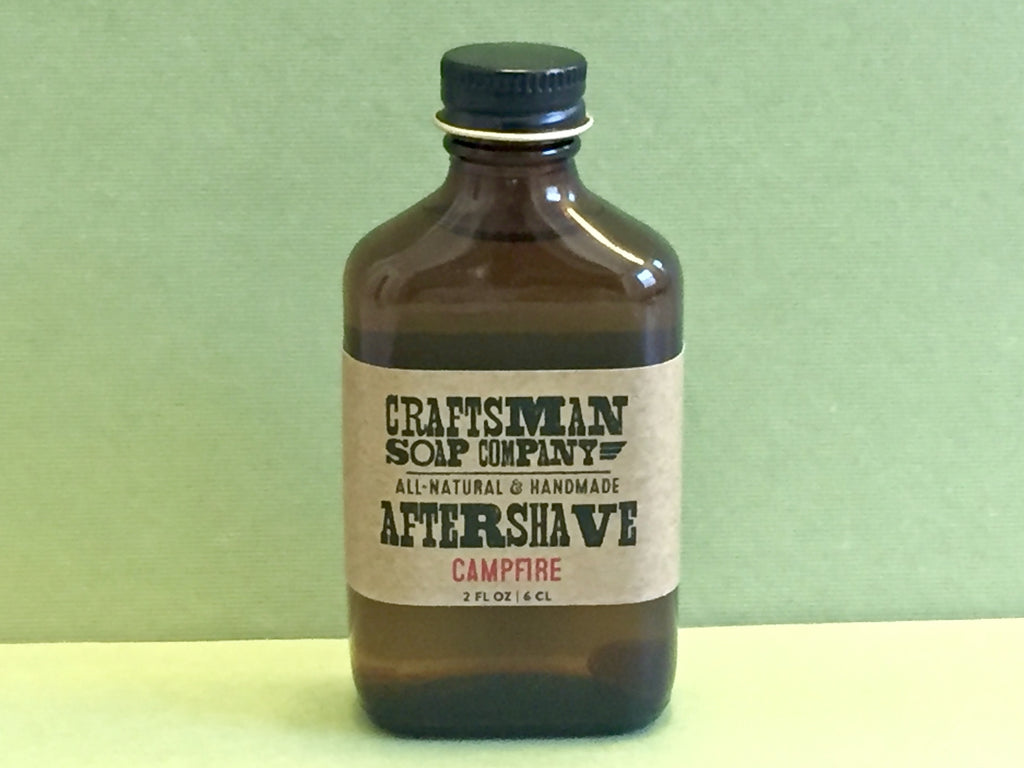 Craftsman Soap Co. Campfire Aftershave