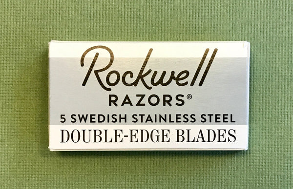 Rockwell 2C Adjustable Safety Razor (White Chrome)