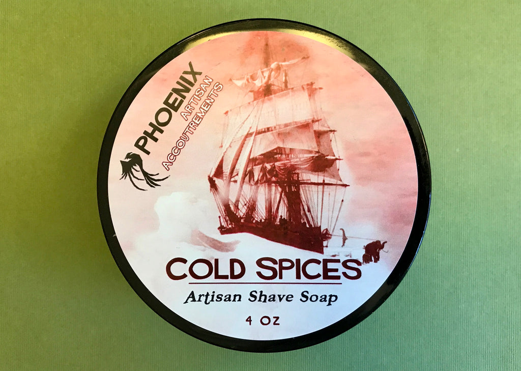 PAA Cold Spices Shaving Soap
