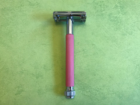 Parker 29L Women's Long Handle Safety Razor (Pink)