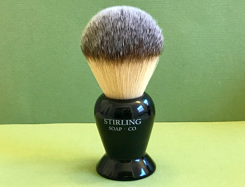 "Stirling Soap Co. ""Kong"" Synthetic Knot Shaving Brush"