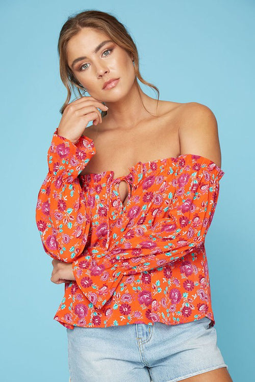 Oh Honey off the shoulder top - Flash Sale
