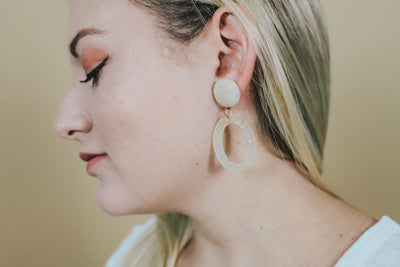 CASSIE DROP EARRINGS - Brinisity