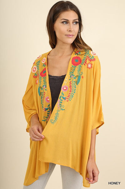 SWEET LIKE HONEY KIMONO - Brinisity