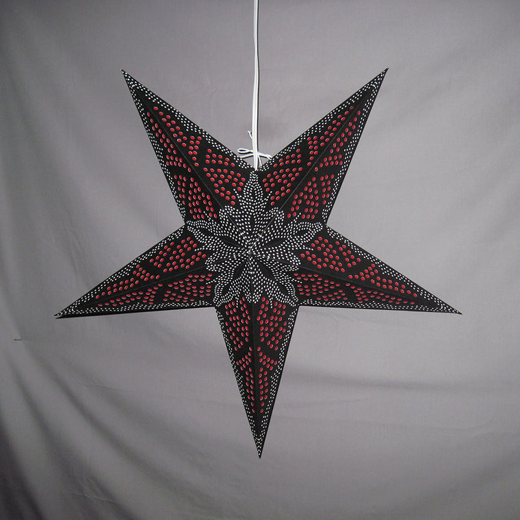 Black & Red Starfish Star