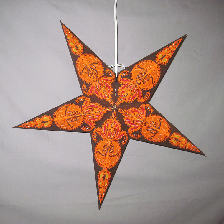 Brown Harvest Star