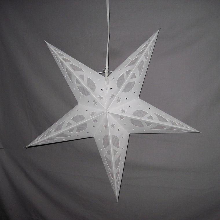 Penny's White Peace Star