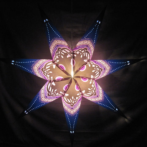 "34"" Tree of Life Paper Star Lantern, Hanging Decoration, Hanging Ornaments"