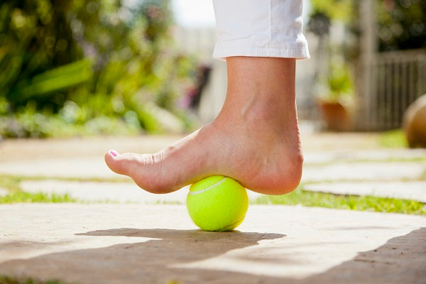 Miko tennis ball for plantar fasciitis