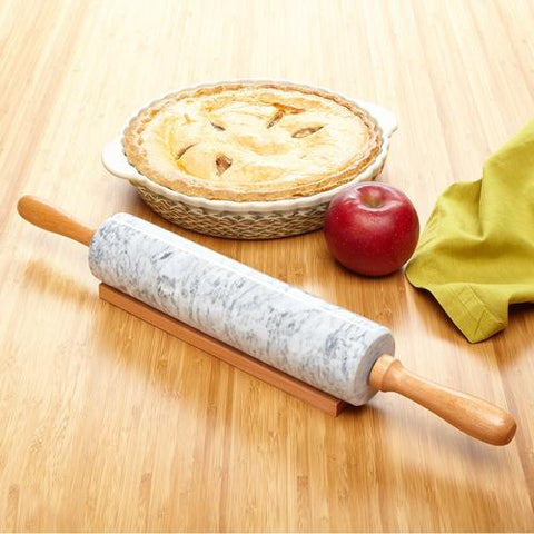 THE ELEMENT MARBLE ROLLING PIN