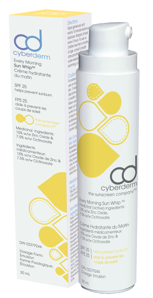 Cyberderm  Every Morning Sun Whip SPF 25 - Matte Finish