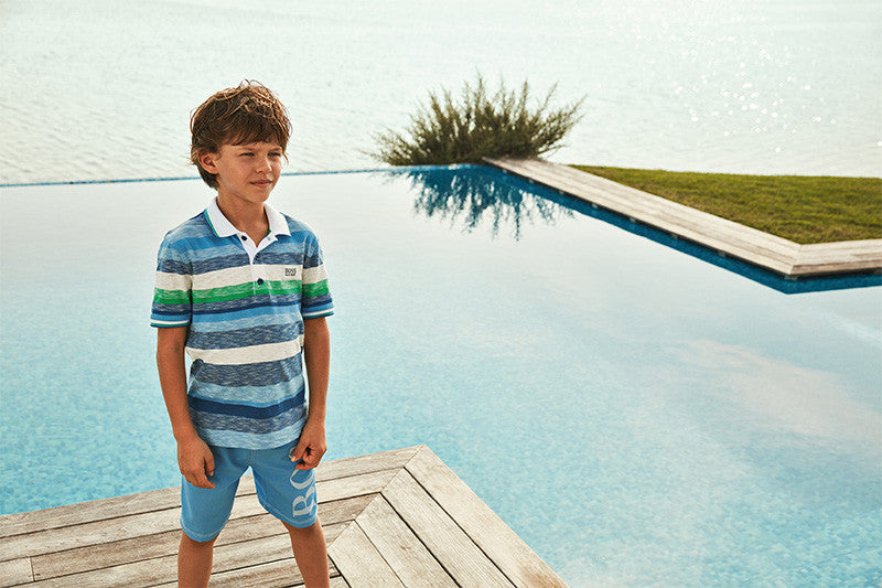 Hugo Boss Kids Summer 2017 Kid Boy Clothing | kids atelier