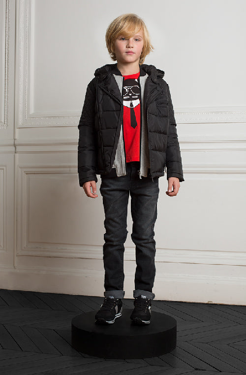 Karl Lagerfeld Kids Trendy Outfits for Boys Fall 2017 | kids atelier