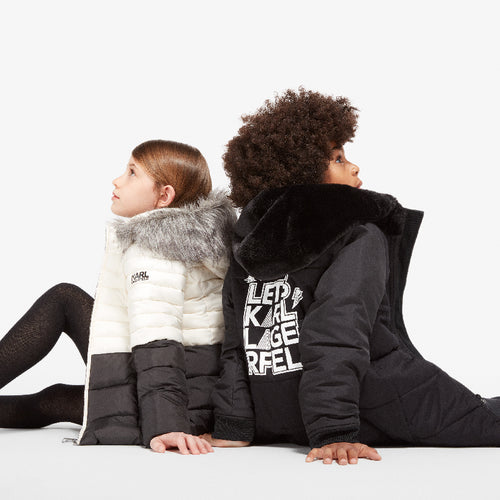 Karl Lagerfeld boys and girls outerwear fall 2017 | kids atelier