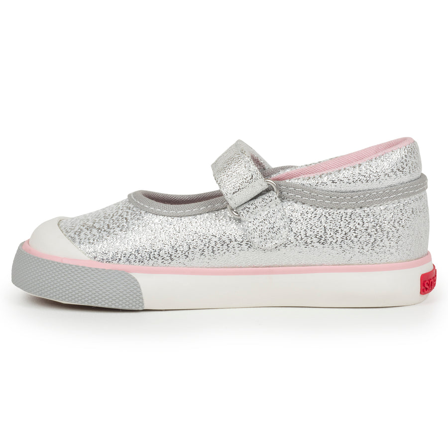 See Kai Run Silver Glitter Marie-Shoes-See Kai Run-kids atelier