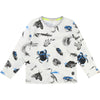 BillyBandit White Insect T-Shirt-Shirts-Billybandit-8Y-kids atelier