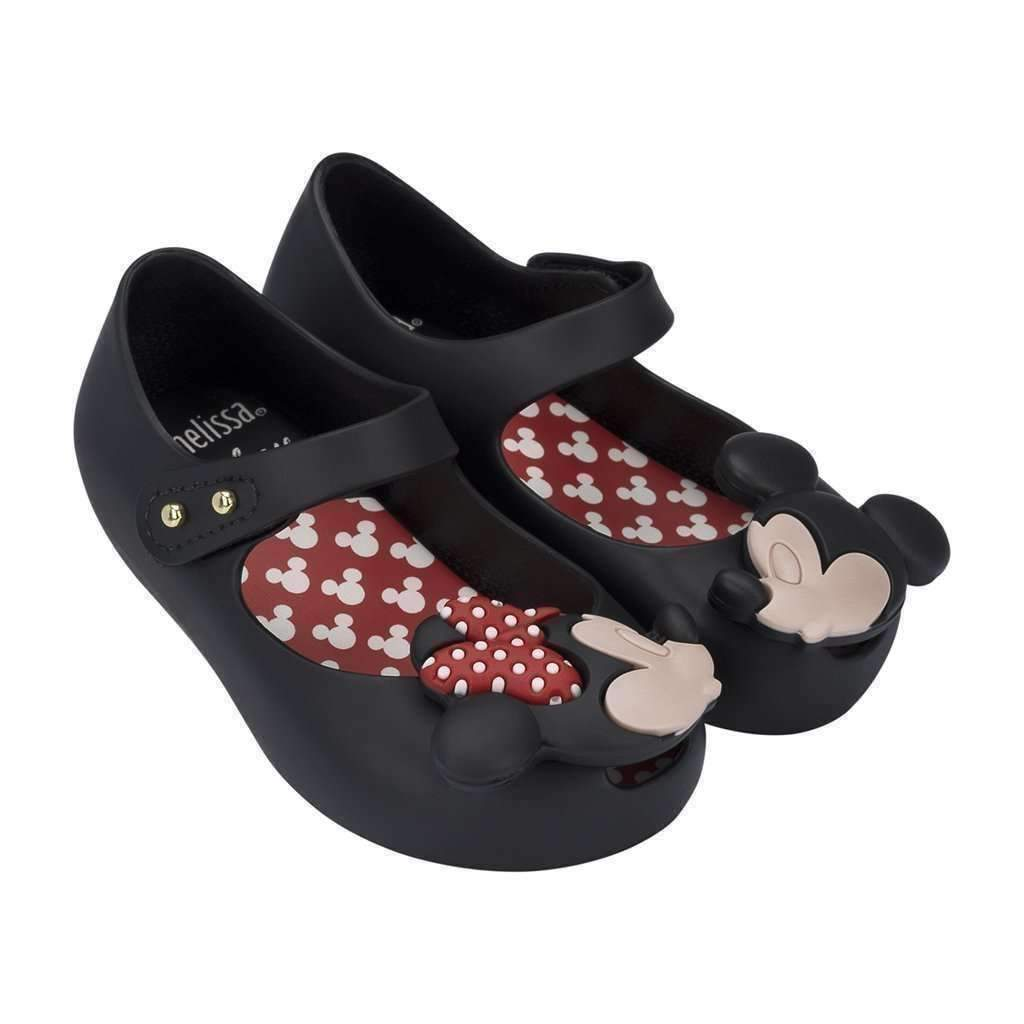 81e9820b3b92c Mini Melissa Black Mickey Mouse Mary Jane - kids atelier