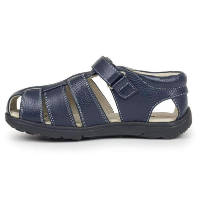 See Kai Run Navy Blue Dillon II-Shoes-See Kai Run-kids atelier