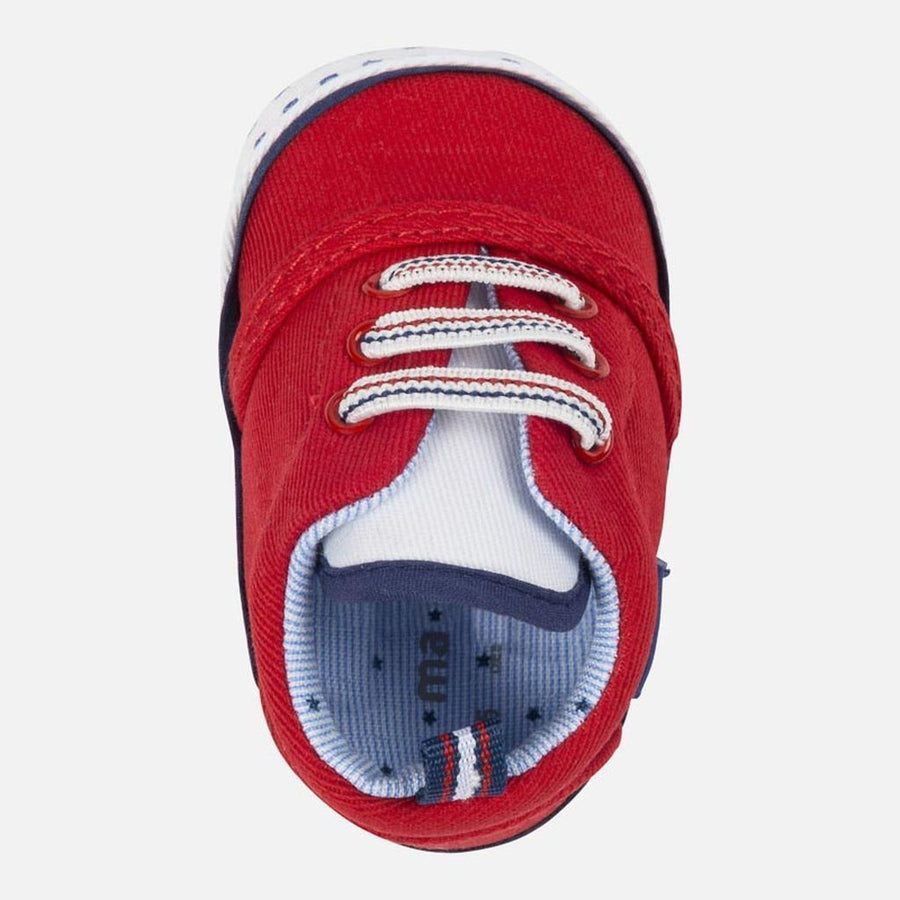 Mayoral Sporty Red Twill Shoes