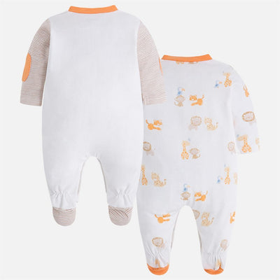 Mayoral 2 Piece Peach Pajamas Set-Outfits-Mayoral-kids atelier