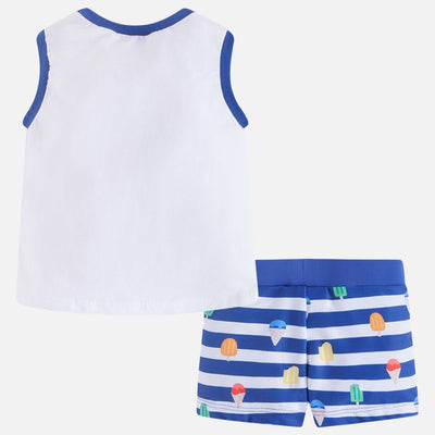 Mayoral Blue Bathsuit Set-Outfits-Mayoral-kids atelier