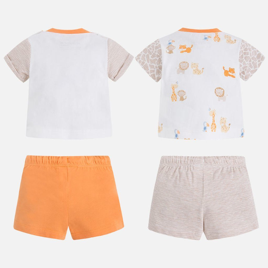 Mayoral 4 Piece Peach Knit Set-Outfits-Mayoral-kids atelier
