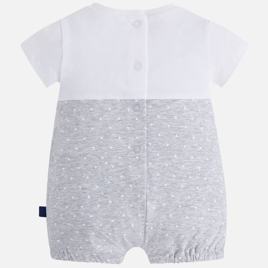 Mayoral Pearl White Romper