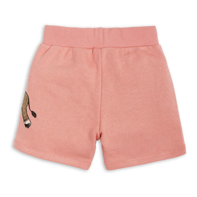 Mini Rodini Pink Donkey Sweatshorts-Shorts-Mini Rodini-kids atelier