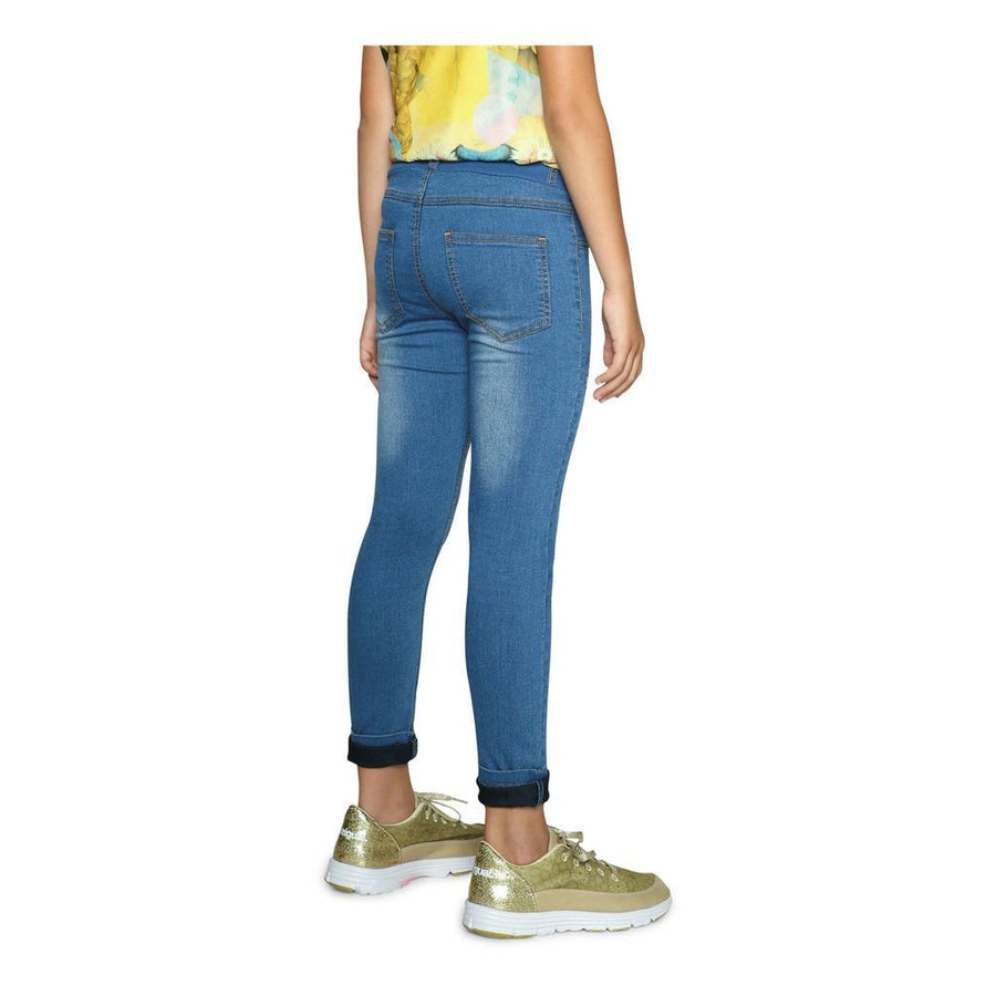 Desigual Light Blue Guayaba Jeans-Pants-Desigual-kids atelier