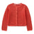 Red Kama Knitted Cardigan