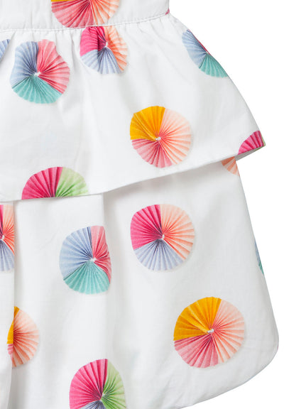 Oilily White Circle fan Sancha Skirt-Skirts-Oilily-kids atelier