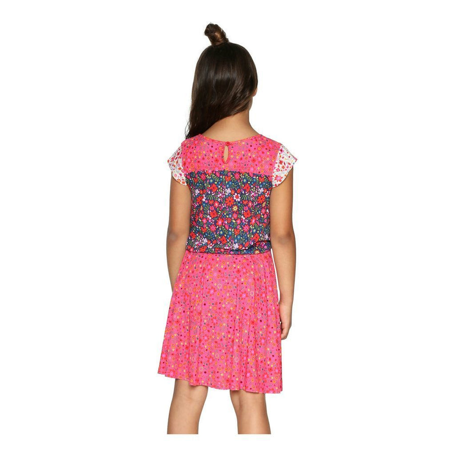 Desigual Fuchsia Rose Olympia Dress
