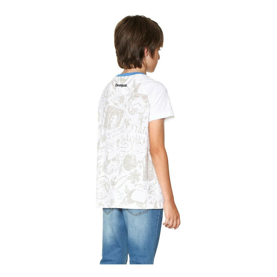 Desigual White Force T-Shirt