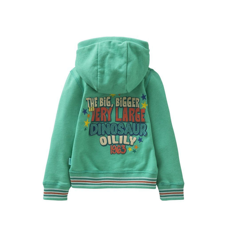 Oilily Green Heroic Cardigan