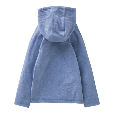 Oilily Blue Melee hooded T-shirt-Shirts-Oilily-kids atelier