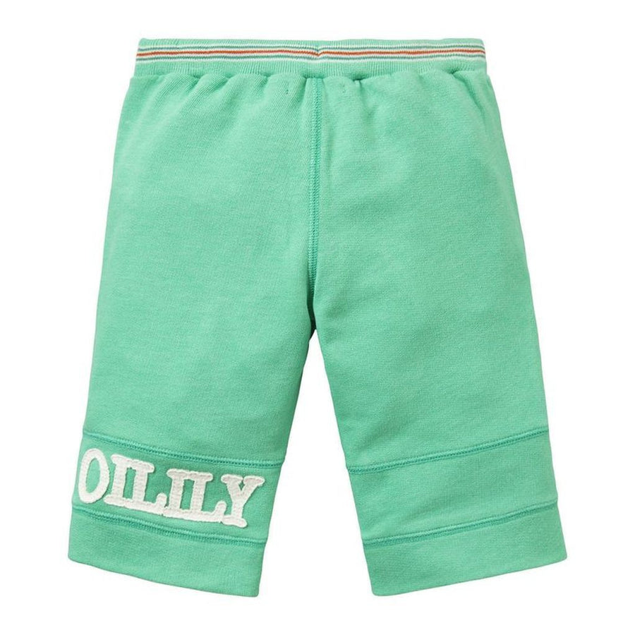 Oilily Green Halbert Sweat Shorts