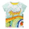 Oilily White Panel Dog T-shirt-Shirts-Oilily-kids atelier