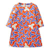 OILILY Red Leaves Haring Dress