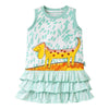 Oilily Tooftoof Ruffle Dog Dress